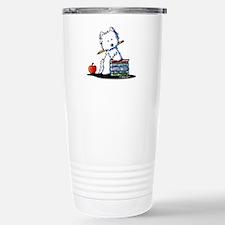 Back To School Westie Travel Mug