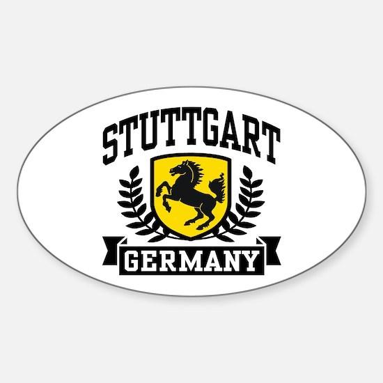 Stuttgart Germany Sticker (Oval)