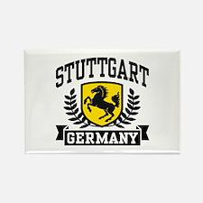 Stuttgart Germany Rectangle Magnet