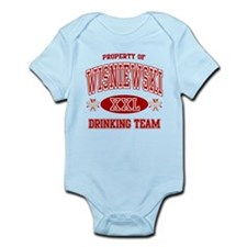 Wisnewski Polish Drinking Team Infant Bodysuit