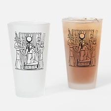 Tehuti, Ast/Isis, Amen-Ra Drinking Glass