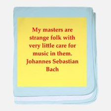 bach quotes baby blanket