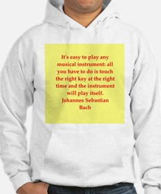 bach quotes Hoodie