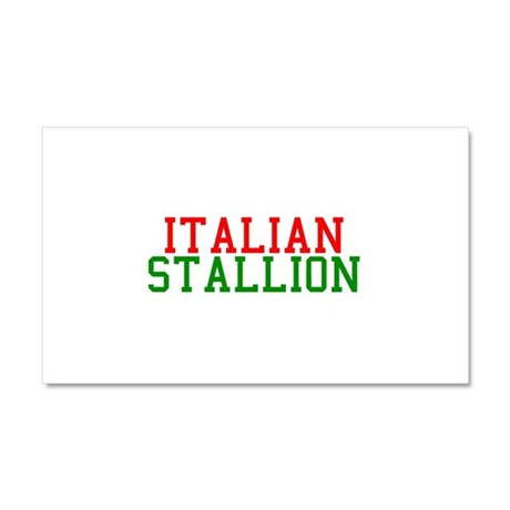 Italian Stallion Car Magnet 20 x 12