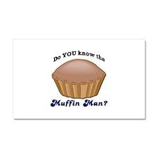 Muffin Man Car Magnet 20 x 12