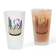 Pkt Protector Westie Drinking Glass