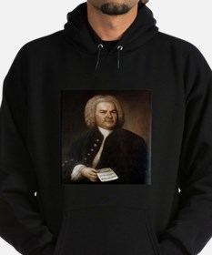 bach quotes Hoodie (dark)