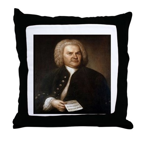 bach quotes Throw Pillow