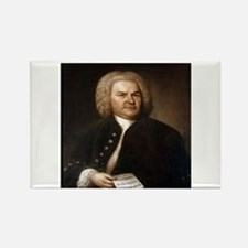 bach quotes Rectangle Magnet