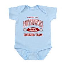 Piotrowski Polish Drinking Team Infant Bodysuit