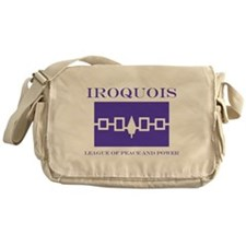Iroquois Flag Messenger Bag