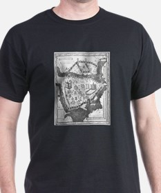 Constantinople Map T-Shirt
