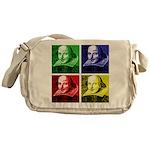 Pop Art Shakespeare Messenger Bag