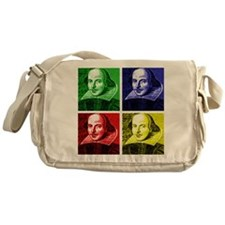 Pop Art Shakespeare Messenger Bag