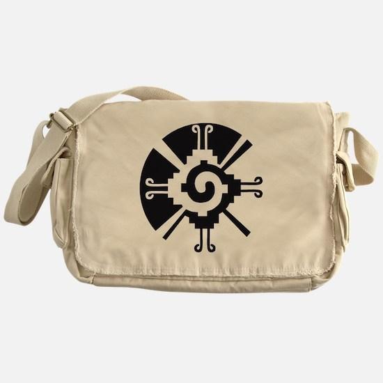 Mayan Unity Symbol Messenger Bag