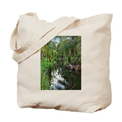 Peaceful Forest Stream Tote Bag