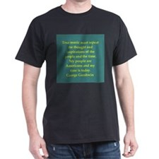 George Gershwin quotes T-Shirt