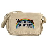 Buddhism bumper Messenger Bags & Laptop Bags