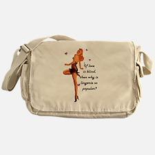 Lingerie Lover Messenger Bag