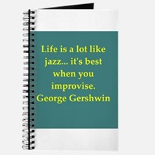 George Gershwin quotes Journal