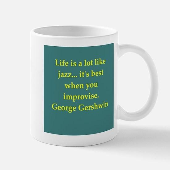 George Gershwin quotes Mug