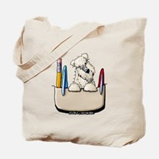 Wheaten Pocket Protector Tote Bag