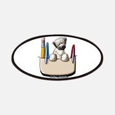 Wheaten Pocket Protector II Patches