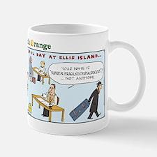 Superman on Ellis Island Mug