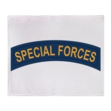 Special Forces Throw Blanket