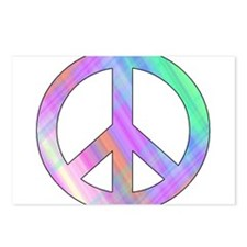 Pastel Peace Postcards (Package of 8)