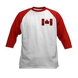 Canada art Baseball Jersey