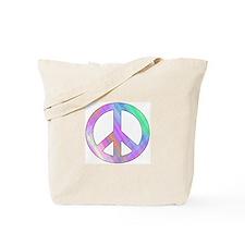 Pastel Peace Tote Bag