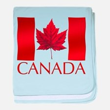 Canada Flag Souvenir Baby Blanket Infant Gifts