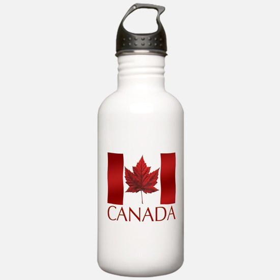 Canada Flag Water Bottle