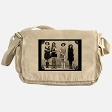 Vintage Bathing Beauties Messenger Bag
