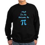 Rational As Pi Sweatshirt (dark)