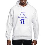 Rational As Pi Hooded Sweatshirt
