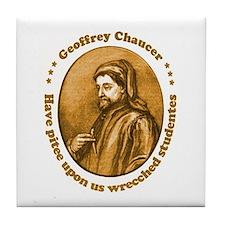 Chaucer Tile Coaster