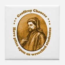 Chaucer Tile Coaster