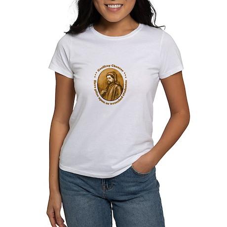Chaucer Women's T-Shirt