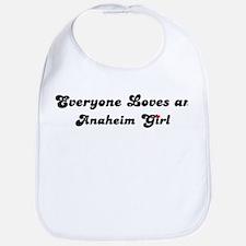 Loves Anaheim Girl Bib