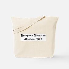 Loves Anaheim Girl Tote Bag