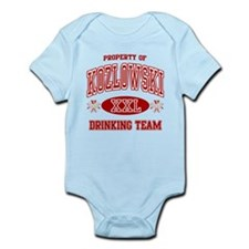 Kozlowski Polish Drinking Team Infant Bodysuit