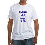 Easy As Pi Fitted T-Shirt