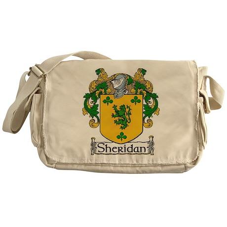 Sheridan Coat of Arms Messenger Bag