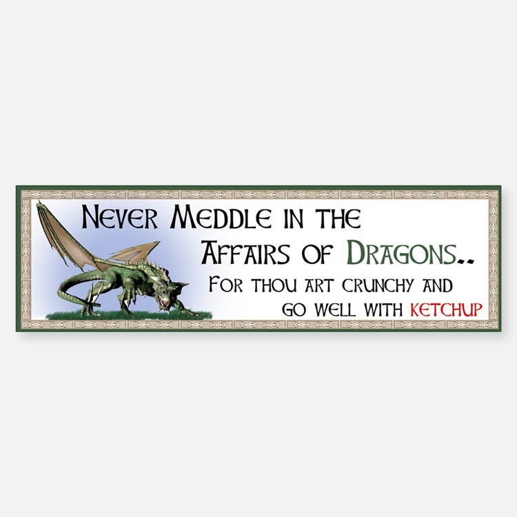 Never Meddle in the Affairs of Dragons...