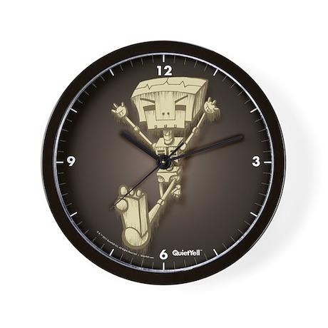 Mr. Bot Bones (Dark) Wall Clock