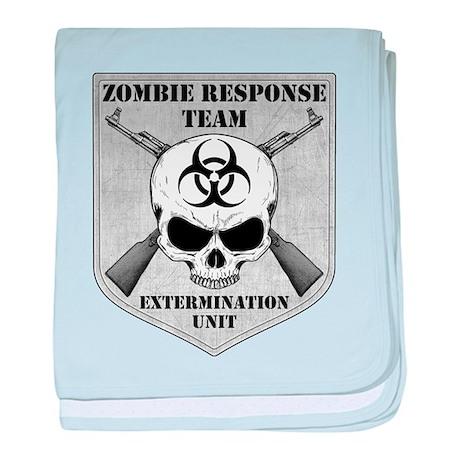 Zombie Response Team baby blanket