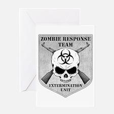 Zombie Response Team Greeting Card