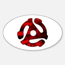 45 Adapter Oval Decal